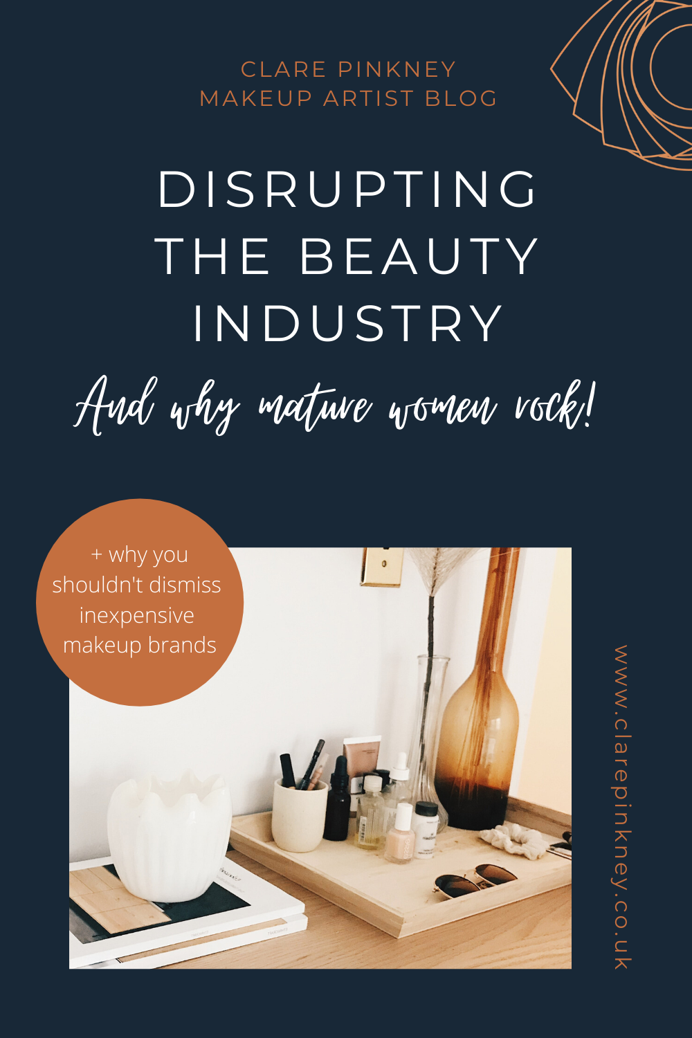 Clare Pinkney Blog disrupting the beauty industry