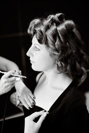 Surrey airbrush make-up artist